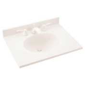 Everyday Essentials Ellipse 80cm Vanity Top - Finish