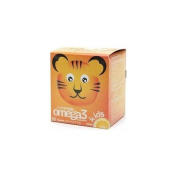 Coromega Omega-3 Kids Squeeze Packets, Orange 30 ea