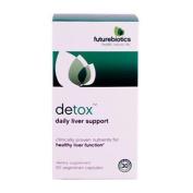 Futurebiotics Detox, Daily Liver Support Vegetarian Capsules 60 ea