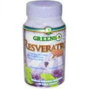 Greens Plus Resveratrol Plus 120 veggie capsules