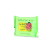 Comodynes Make Up Remover Towels for Face and Eyes, Burdock (Combination and OiIy Skin) 20 ea