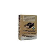 nuGO Organic Bars Dark Chocolate Almond 12 bars