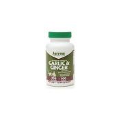 Jarrow Formulas Garlic and Ginger, 700 mg, 100 Capsules,