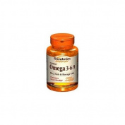 Sundown Naturals Triple Omega 3-6-9, Softgels 60 ea