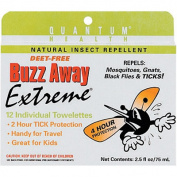 BuzzAway Towelette 12 cnt