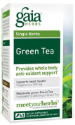 Gaia Herbs - Green Tea Certified Organic
