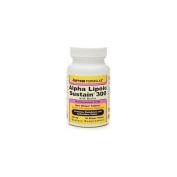 Jarrow Formulas Alpha Lipoic Sustain 300 -- 60 Tablets - Vegan