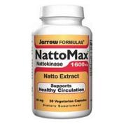 Jarrow Formulas NattoMax 30 Vegetarian Capsules