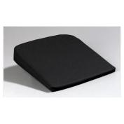 Jobri Back Care Seat Wedges, Large Wedge 43cm w x 41cm , Standard Foam, Black