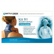 Battle Creek Equipment 560 2- 4 in. x 6 in. packs Ice It C-Pack Double