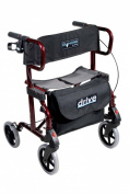 Diamond Deluxe Aluminium Rollator/Transport Chair