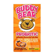 Buddy Bear Probiotic, Sun-Kissed Orange Flavour, 60 Chewable Bear Tablets