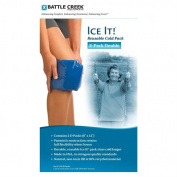 Battle Creek Equipment 522 2- 6 in. X 12 in. Packs Ice It E-Pack Double