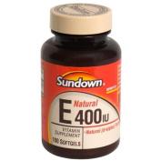 Sundown Naturals Sundown Naturals Vitamin E With D-Alpha Tocopheryl
