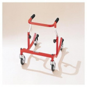 Pediatric Anterior Safety Roller - Tyke, Aluminum, Red