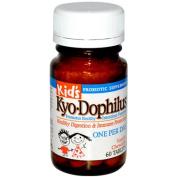 Kyolic Kid's Kyo-Dophilus, Vanilla 60 tablets