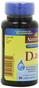 Nature Made Vitamin D, 2000 IU 90 liquid softgels