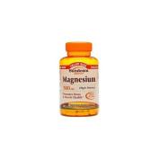 Sundown Naturals Magnesium, 500mg 180 caplets
