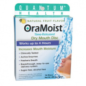 OraMoist Dry Mouth Patch - 1 Box of 16 Patches
