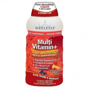 Wellesse MultiVitamin+, Daily Health & Wellness, 470ml