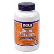 Now Foods Super Enzymes, 180 caps