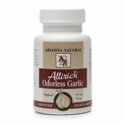 Arizona Natural Resources Allirich Odourless Garlic, 500mg, Capsules 100 ea