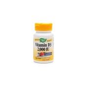 Nature's Way Vitamin D3 - 2,000 IU - 120 Softgels