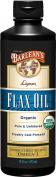 Barlean's Highest Lignan Content Cold Pressed Flax Oil 16 fl oz