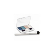 CoverGirl Exact Eyelights Eye Brightening Shadow Palette, Radiant Blues 710 1 set