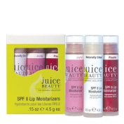 Juice Beauty SPF 8 Lip Moisturisers Set 3x Tinted Lip Moisturiser