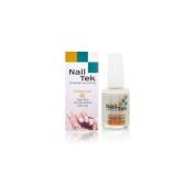 Nailtek Foundation No.1 Ridge-Filling Nail Strengthener Base Coat, 0.5 Fluid Ounce