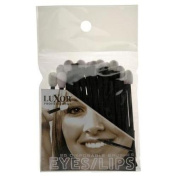 Luxor Professional Deluxe Disposable Brushes for Eyes/Lips - (02-PP8) 25 Pieces