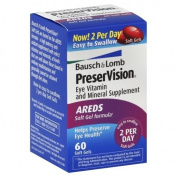 PreserVision Eye Vitamin and Mineral Supplement, AREDS Soft Gels