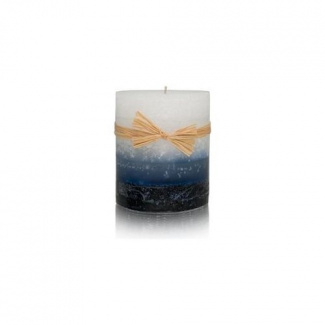 Lit by Stone Triple Layer Luminary (3 in L x 3 in W) Mer Du Corail