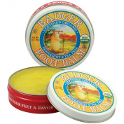 Badger Foot Balm 60ml Tin Peppermint & Tea Tree