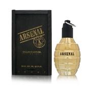 Arsenal Gold Cologne 100ml EDP Spray (Black Wood Box)