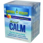Peter Gillham's Natural Vitality Natural Calm, Magnesium Packs, Organic Raspberry-Lemon 30 ea