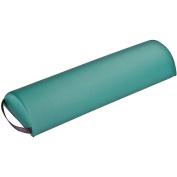EarthLite Massage Tables Half Jumbo Round Bolster, Teal