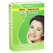 Andrea Face Wax Strips