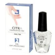 Nail Tek CITRA Formaldehyde Free Nail Strengthener Step 2 for Soft, Peeling Nails