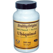 Ubiquinol 200mg 60 Gel by Healthy Origins