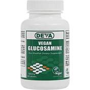 Deva Vegan Vitamins 0107334 Glucosamine - 500 mg - 90 Tablets