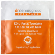 DGskincare EZ4U All Skin Types Facial Towelette 20 Packettes