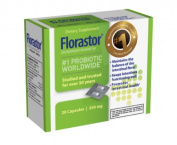 Florastor Probiotic, 250mg 20 capsules