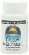 Source Naturals Calcium D-Glucarate 500mg