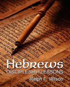 Hebrews: Discipleship Lessons