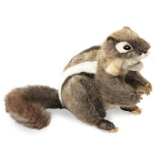 Hand Puppet - Folkmanis - Chipmunk Eastern New Animals Soft Doll Plush 2888