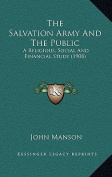 The Salvation Army and the Public