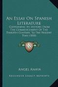 An Essay on Spanish Literature