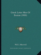 Greek Letter Men of Boston